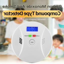 Carbon Monoxide and Smoke 2in1 Combination Detector Alarm -