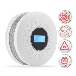 Carbon Monoxide Co and Smoke Detector fire alarm smoke detec