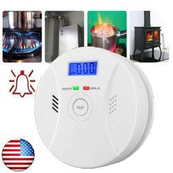 Carbon Monoxide  & Smoke Fire Photoelectric Combination Dete