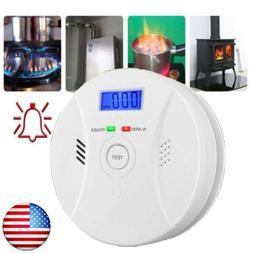 Carbon Monoxide  and Smoke Fire Photoelectric Combination De