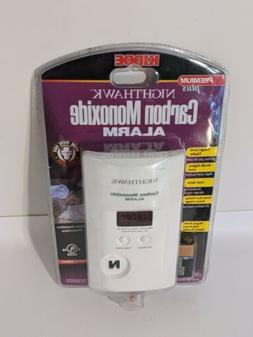 Carbon Monoxide Detector Alarm Kidde Nighthawk Premium Plus