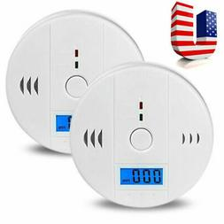 Carbon Monoxide Detector and Smoke Alarm with Voice Warning