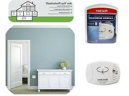 Carbon Monoxide Detector Battery Powered CO Smoke Alarm CO40