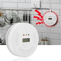 Carbon Monoxide Detector Combo Alarm Sound Gas Sensor Batter