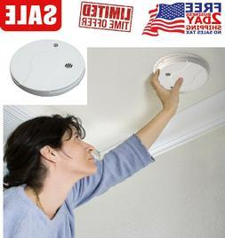 Carbon Monoxide Detector Hardwired Smoke Alarm FireCombo Sen