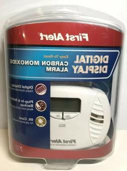 First Alert Carbon Monoxide Detector Plug-In Model CO615