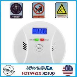 Carbon Monoxide Detector Smoke Fire Alarm Sound Combo Sensor