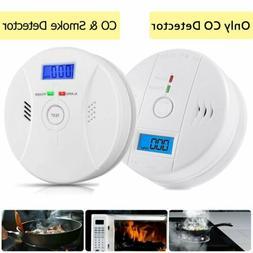 CO & Smoke Alarm Carbon Monoxide Smoke Integrated Detector H