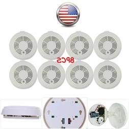 CO&Smoke Carbon Monoxide Detector Alarm 9V Battery Powered E