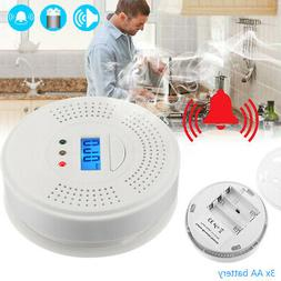 co and smoke monoxide detector combination carbon