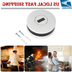 CO Carbon Monoxide Detector Smoke Fire Alarm Sound Combo Sen