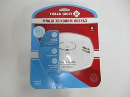 First Alert  White Plug-In Carbon Monoxide Detector with Bat