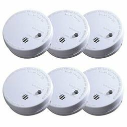 Code One Battery Operated Smoke Detector with Ionization Sen