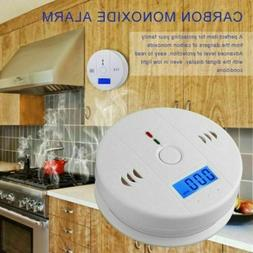 CO Alarm Carbon Monoxide Battery Operate Detector Poisoning