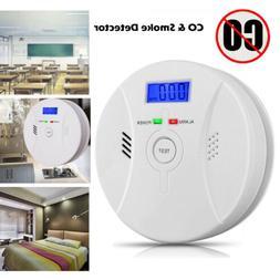 Combination Carbon Monoxide & Smoke Alarm Battery CO Smoke G