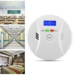 Combination Carbon Monoxide Alarm Battery Operate CO Gas Det