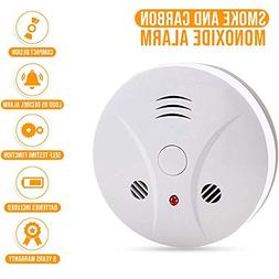 Combination Photoelectric Smoke Alarm and Carbon Monoxide De