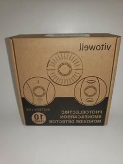 Combination Photoelectric Smoke Detector and Carbon Monoxide