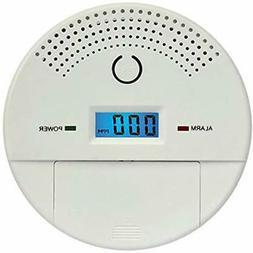 Combination Smoke & Carbon Monoxide Detectors And Alarm For