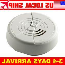 Dual Ionization Smoke Alarm 9V Battery Operated Sensor Home