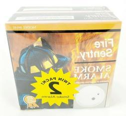 Kidde Fire Sentry 2pk Small Smoke Detector Alarm Model 09140