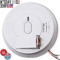 Fire Smoke Alarm Detector Hardwired Combo Ionization Alarm S