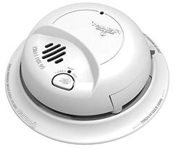 First Alert 9120B Smoke Detector & Alarm, AC Powered with Ba