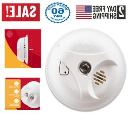 First Alert Battery Operated Smoke Alarm Detector Escape Lig
