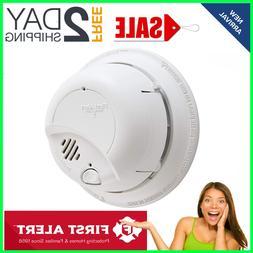 First Alert Brk Hardwired Smoke Alarm And Carbon Monoxide De