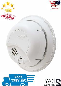 First Alert Brk Hardwired Smoke Alarm Detector Battery 9V
