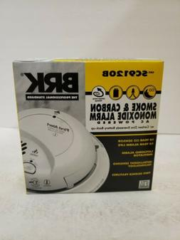 BRK First Alert SC9120B Carbon Monoxide & Smoke Alarm AC Pow