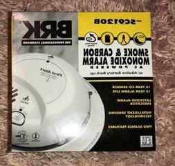 BRK First Alert SCO2B CARBON MONOXIDE & SMOKE ALARM COMBO DE