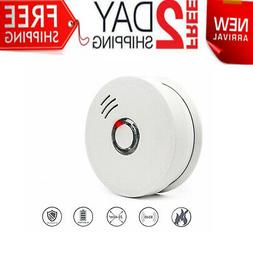 First Alert Smoke Detector&Alarm with Light&Sound,AC Powered