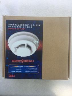 DSC FSA-410BT 4-Wire Photoelectric Smoke Detector with Heat