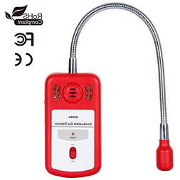 Natural Gas Detector Portable Gas LeakTester Sound Light Ala