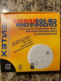 Gentex GN-503 Smoke Carbon Monoxide CO Detector Alarm Combo