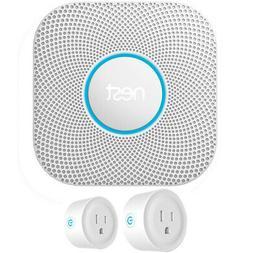 Google Nest Protect 2nd Gen. Smoke/Carbon Monoxide Alarm Bat