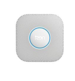 Google Nest Protect Smoke + Carbon Monoxide Alarm, S3000BWES