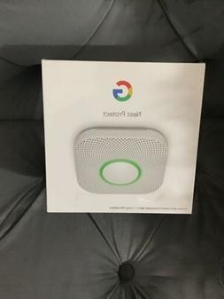 Google S3000BWES Nest Protect 2nd Generation Smart Smoke/Car