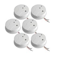 Hard Wired Smoke Alarm Detector With Hush Ionization Sensor
