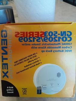 Gentex 8100 Smoke Alarm, 120V AC 4 Wire Photoelectric w/ Sol