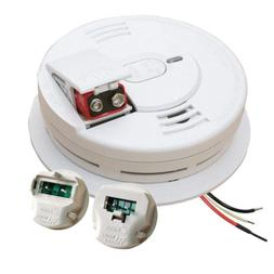 Hardwire Interconnectable 120-Volt Smoke Alarm With Battery
