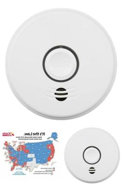 Hardwire Smoke And Carbon Monoxide Detector With 10-Year Bat