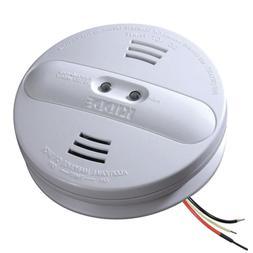Hardwire Smoke Detector 9V Battery Backup Ionization Photoel