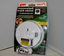KIDDE Hardwire Smoke Detector w/ Battery Backup & Adapters w