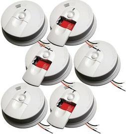 Hardwired Interconnected Ionization Smoke Alarm Detector Hom