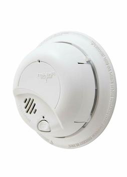 First Alert Smoke Detector Alarm | Hardwired with 10 Year Ba