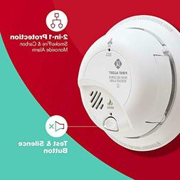 Hardwired Smoke and Carbon Monoxide  Detector with Battery B