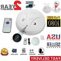 Hidden Spy Camera Smoke Detector Motion Smoke Fire Alarm Det
