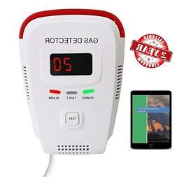 Home Detector Gas Methane Butane Voice Light Warning Prevent